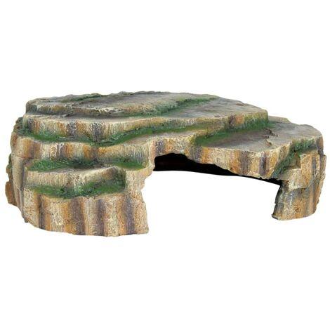 TRIXIE Grotta per Rettili 30x10x25 cm in Resina Poliestere 76212
