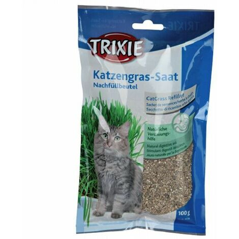 """main image of """"Trixie Grow Your Own Cat Seed 100g - (Bag)"""""""