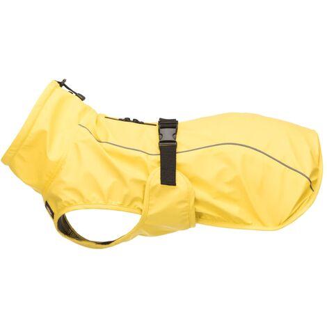 TRIXIE Impermeable para perros Vimy amarillo M 50 cm