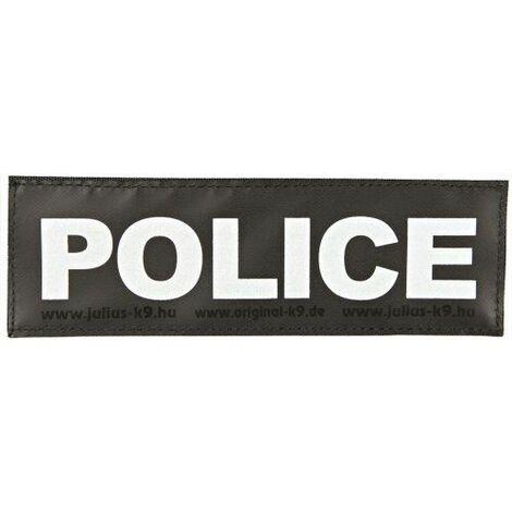 Trixie Julius-K9 Lot de 2 stickers velcro POLICE Taille L