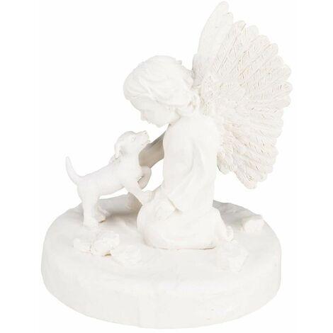 TRIXIE Lápida para animales perro con ángel blanco 38418