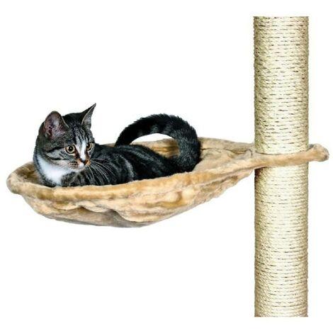 TRIXIE Nid XL pour arbre a chat D45 cm beige peluche