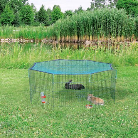 TRIXIE Outdoor Animal Pen with Protective Net 60x57 cm Green 62411