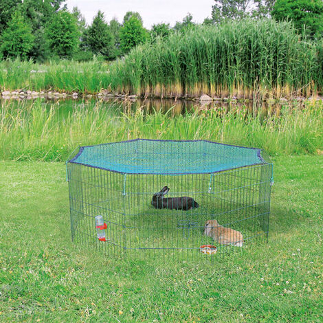 TRIXIE Outdoor Animal Pen with Protective Net 60x57 cm Green 62411 - Green