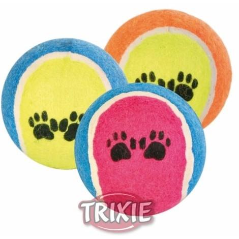 TRIXIE Pelota De Tenis Color Surtido Para Perros