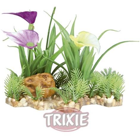 TRIXIE Plantas Para Acuario Con Base De Grava
