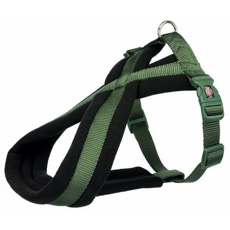"""main image of """"Trixie Premium Touring Dog Harness - Forest(S-M)"""""""