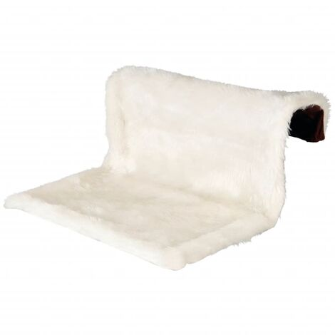 TRIXIE Radiator Pet Bed Plush Cream and Brown 43141