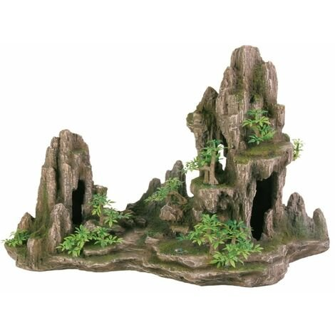 TRIXIE Rock Formation Aquarium Decoration Polyester Resin 8855