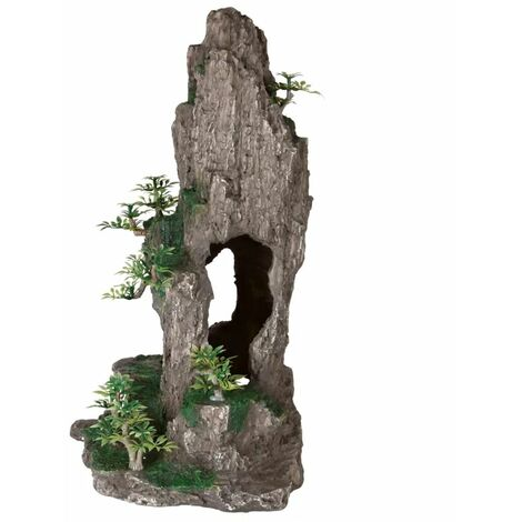 TRIXIE Rock Formation Aquarium Decoration Polyester Resin 8858