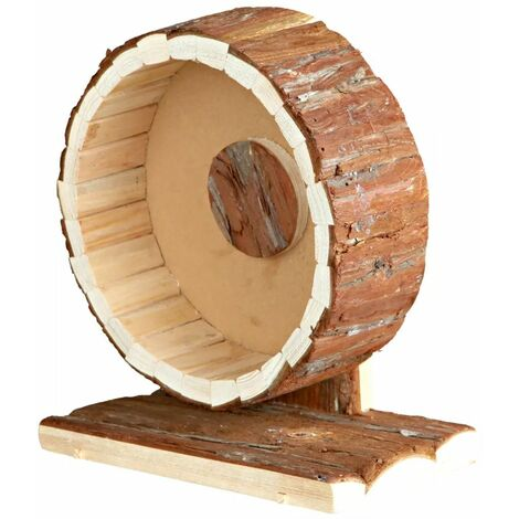 TRIXIE Rueda para roedores Natural Living 20 cm madera 61035