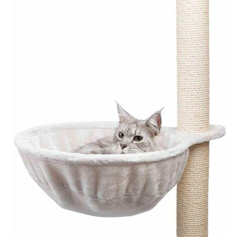 TRIXIE Sac confort XL compatible avec arbre a chat - Gris clair - Pour chat