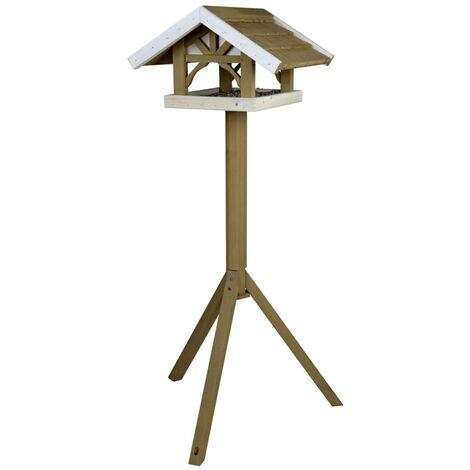 TRIXIE Standing Bird Feeder Natura 45x28x44 cm Brown 55802