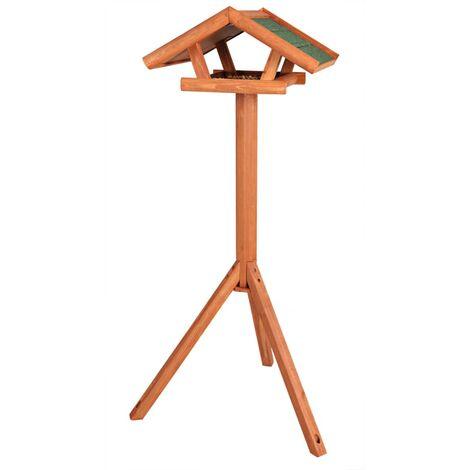 TRIXIE Standing Bird Feeder Natura 46x22x44 cm Brown 5570