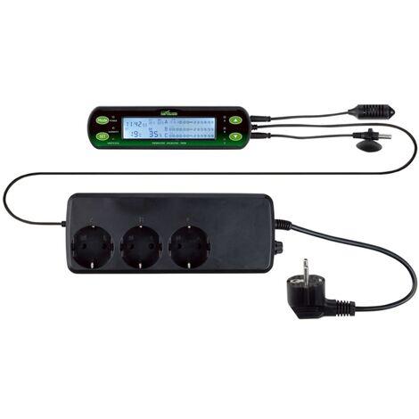 TRIXIE Thermostat et hygrostat numériques 16 x 4 cm