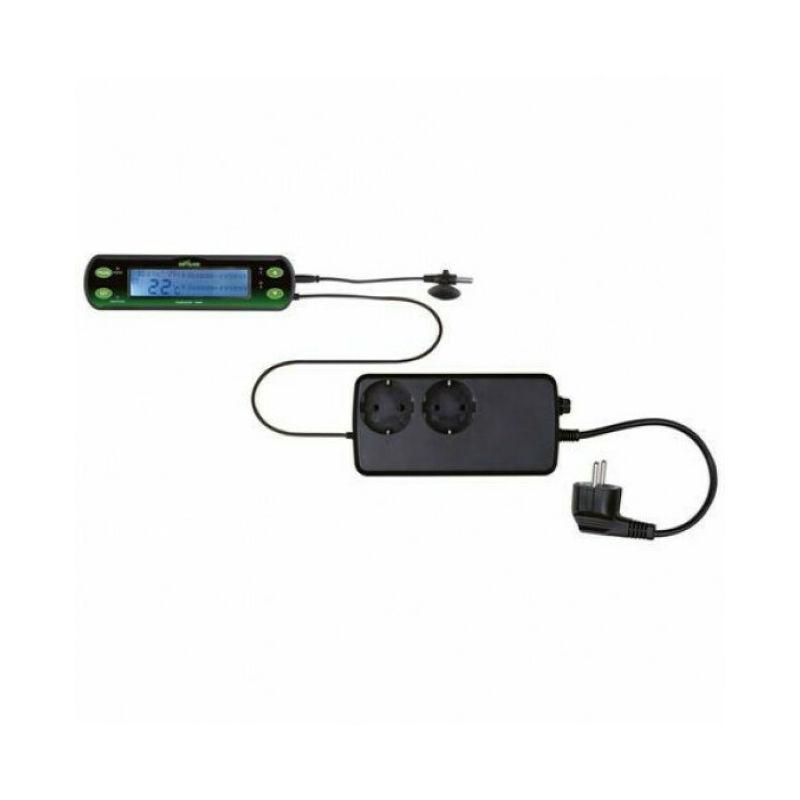 Thermostat digital à deux circuits pour terrarium Reptiland - Trixie