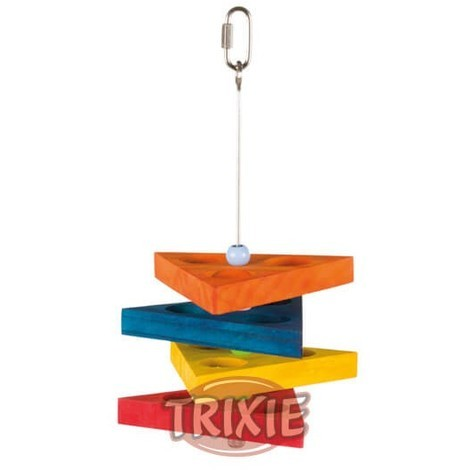 Trixie Triangulo De Snack Para Loros Medianos 26 cm