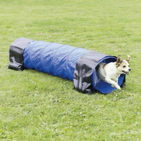 Tunnel d'agility rigide Trixie pour sport canin Longueur 200 cm Diamètre 40 cm