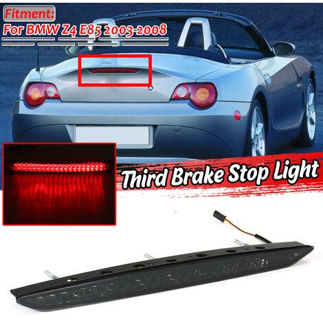 Troisième feu stop de frein arrière de haut niveau pour BMW E85 Z4 2003-2008 (fumé / rouge / clair)