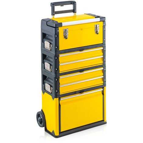 """main image of """"Trolley porta attrezzi professionale giallo ENRICO PREMIUM QUALITY"""""""
