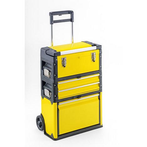 """main image of """"Trolley porta attrezzi professionale giallo GIULIANO PREMIUM QUALITY"""""""