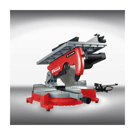 Troncatrice 2000W 305mm base in alluminio per falegnameria STAYER