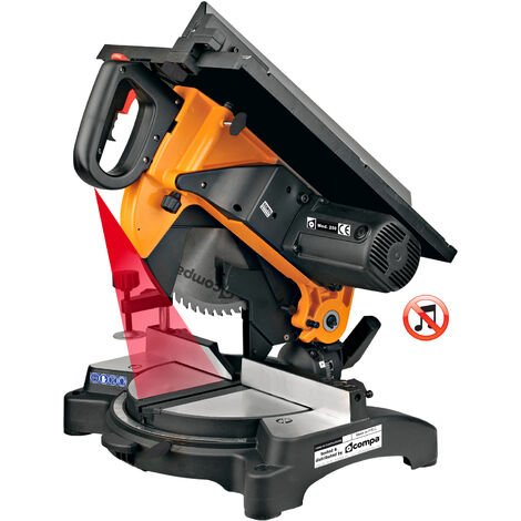 Troncatrice Compa Orange 250 Multicut Plus - Lama 250mm 1600W Motore Silenziato