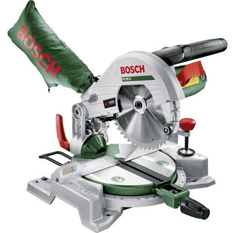 Troncatrice e sega per tagli obliqui Bosch Home and Garden PCM 8 216 mm 30 mm 1200 W