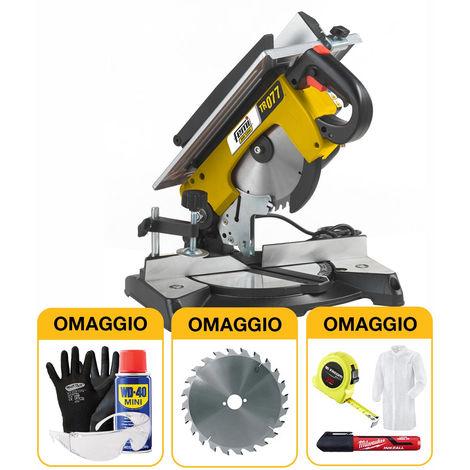 Troncatrice per legno Femi Job Line TR 077 - 1200W con OMAGGIO
