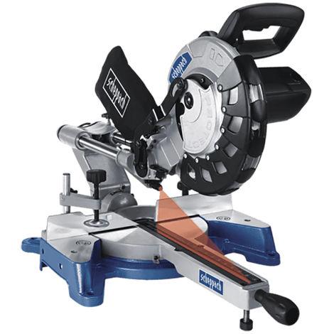 Troncatrice radiale da legno Scheppach HM100LXU
