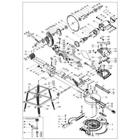 TRONCATRICE RADIALE LASER CON SUPPORTO W 1400 LAMA MM 190 SEGA CIRCOLARE GARAN 3