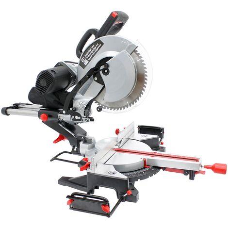 Troncatrice radiale per legno laser 1800W lama da taglio 305 mm HW professionale