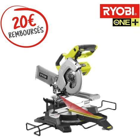 Troncatrice radiale RYOBI 18V One Plus - senza batteria e caricabatterie R18MS216-0
