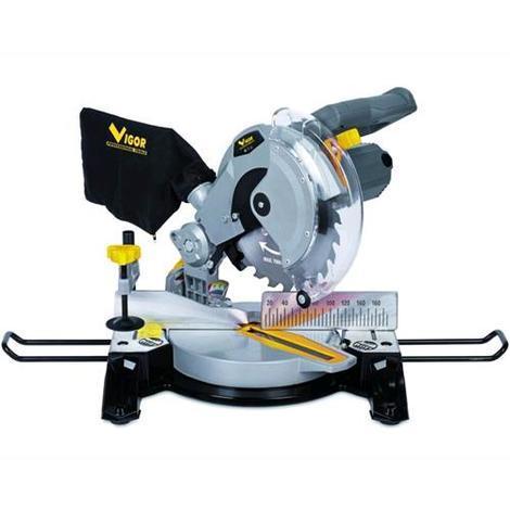 Troncatrice Vigor Vtr-210 Combinata 1650 Watt Lama 48 Denti