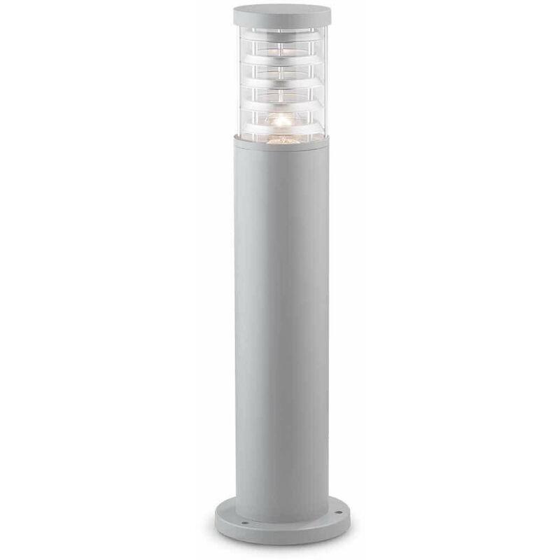 TRONCO Grau Stehleuchte 1 Aluminiumbirne