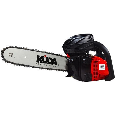 Tronçonneuse à essence KUDA 25,4 cc 1,29cv et guide de 30cm