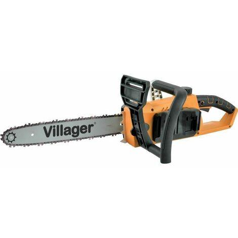 Tronçonneuse élagueuse électrique sans fil guide 35cm Fuse VBT 1440 Villager sans chargeur ni batterie - Orange