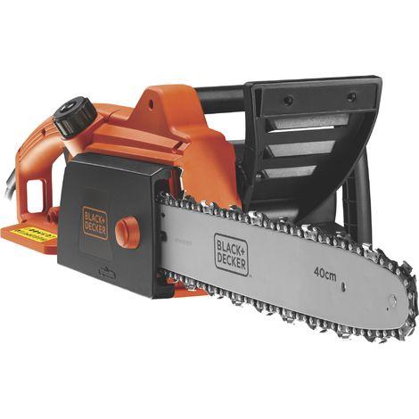 Tronçonneuse électrique CS1840 - Puissance 1800 W - Guide 40 cm - Orange et noir