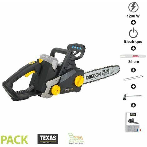 Tronçonneuse sans fil à batterie 1200W guide 35 cm Texas CSX4000 sans chargeur ni batterie