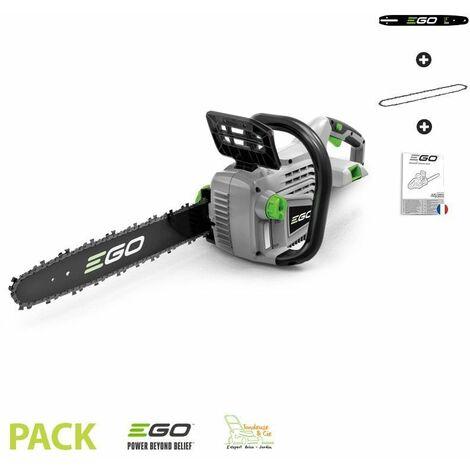 Tronconneuse sans fil sur batterie lithium ion Ego Power+ CS1400E guide chaine Oregon 35 cm