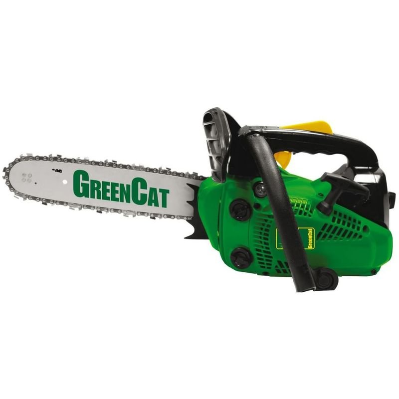 Green Cat - Elageuse thermique 25Cm3 Lame 25cm Moteur 2T 1.2 CV 900w GREENCAT Carburateur WALBRO