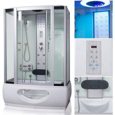 TroniTechnik Komplettdusche Duschtempel Badewanne Wanne Duschkabine ...