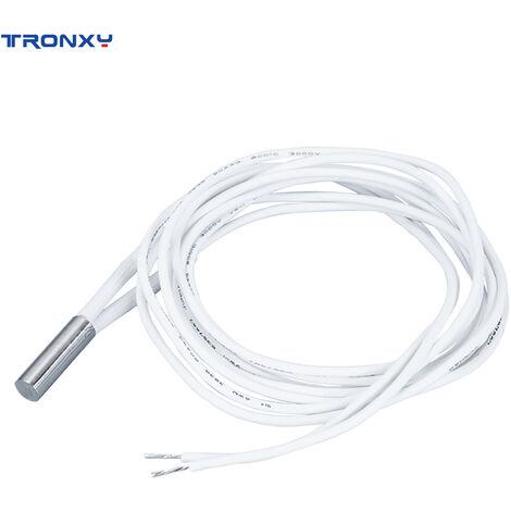 Tronxy 24V 50W Cartouche Chauffante Chauffe-Chauffage Tube 6X20Mm Avec 1,2 Metre De Fil Pour Imprimante 3D
