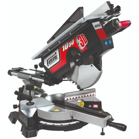 Tronzadora para madera /aluminio - Diam. 305 - con mesa- 1800 W. FEMI FM-10503D