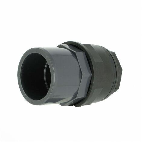 Trop-plein cuve eau 1000L - Sortie PVC 50/63 mm - Version longue