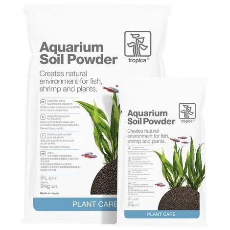 Tropica Aquarium Soil Powder 9L kompletter Bodengrund 1-2 mm