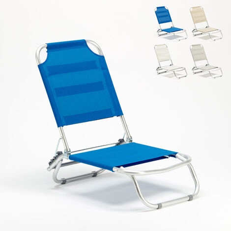 TROPICAL Portable Deck Chair For Beach & Camping
