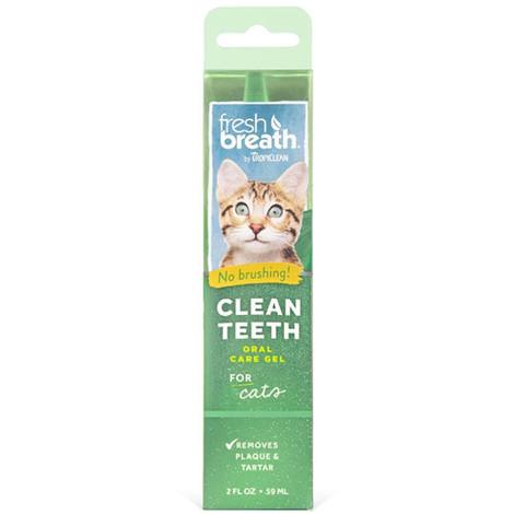 TROPICLEAN CLEAN TEETH ORAL CARE GEL FOR CATS 59ML