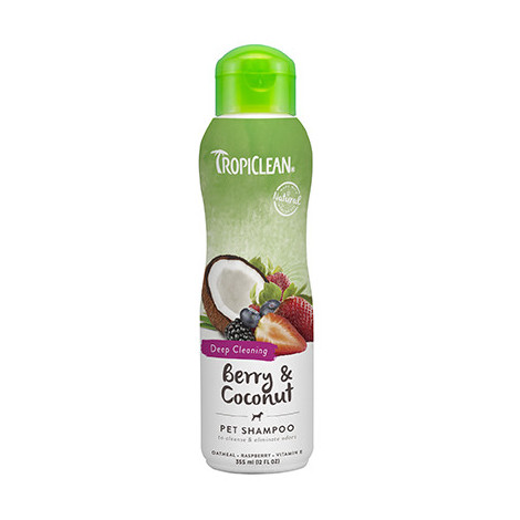 TROPICLEAN SHAMPOO BERRY AND COCONUT 355 ML