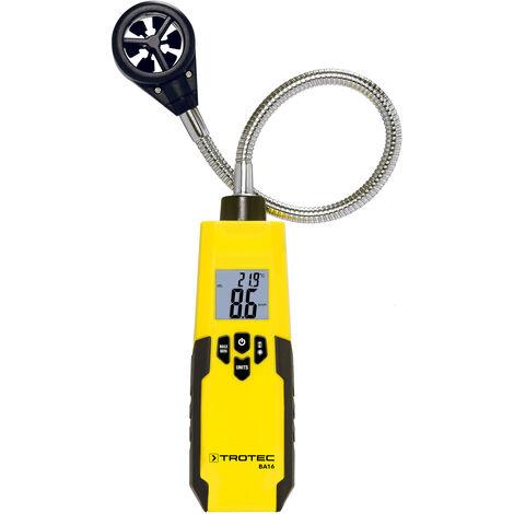 TROTEC Anemómetro flexible BA16
